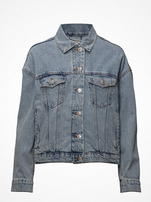 Jeansjackor - Mango Crop Denim Jacket