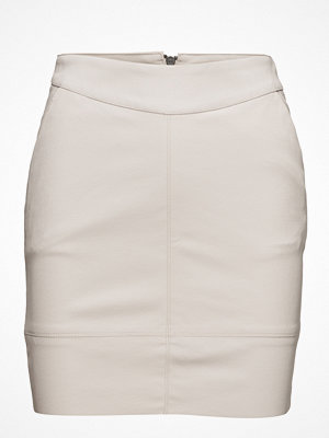 Only Onlbase Lg Faux Leather Skirt Otw