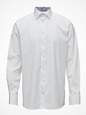 Eton White Shirt - Palm Print Details