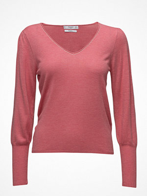 Mango Ribbed Metallic Sweater