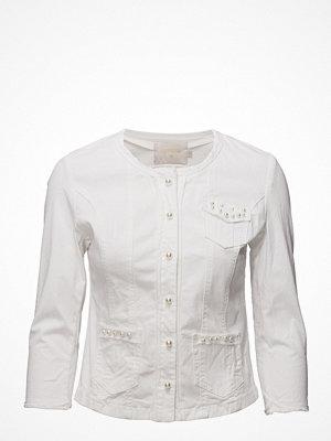 Jeansjackor - Cream Cara Pearl Jacket