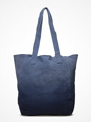 Superdry marinblå shopper The Anneka Ombre Tote