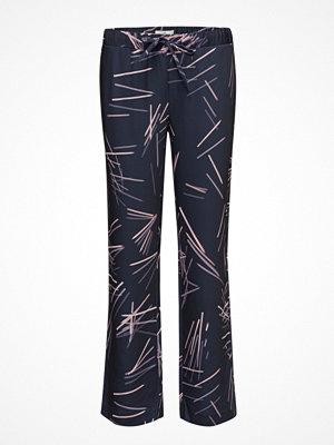 Gant svarta byxor med tryck G. Printed Pencil Drawstring Pant