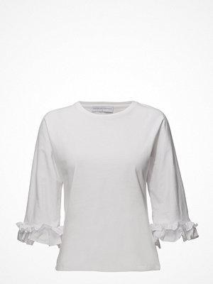 Cathrine Hammel Tee-Shirt W/Ruffled Sleeves