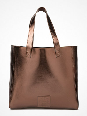 Superdry brun shopper Metallic Elaina Tote