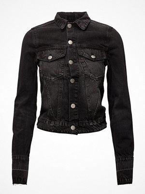Jeansjackor - Cheap Monday Renew Jacket Black Smoke