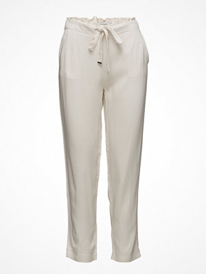 Mango vita byxor Drawstring Flowy Trousers