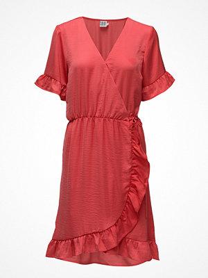 Saint Tropez Wrap Dress W Ruffle