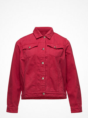 Jeansjackor - Violeta by Mango Color Denim Jacket