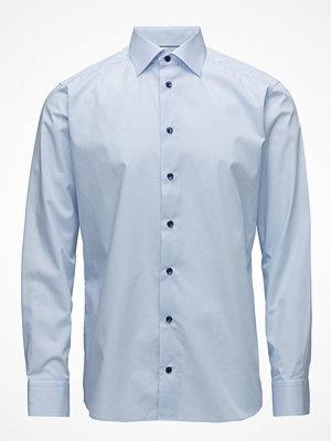 Eton Sky Blue Shirt - Navy Buttons