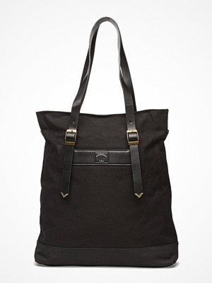 Superdry svart shopper Midwest Canvas Tote