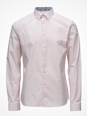 Eton Pink Check Shirt - Palm Print Details