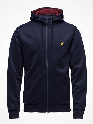 Street & luvtröjor - Lyle & Scott Hooded Tricot Jacket