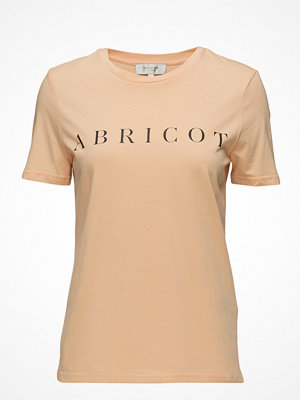 Selected Femme Sfbritt Ss Tee - Abricot