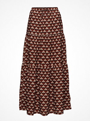 Scotch & Soda Tiered Printed Maxi Skirt