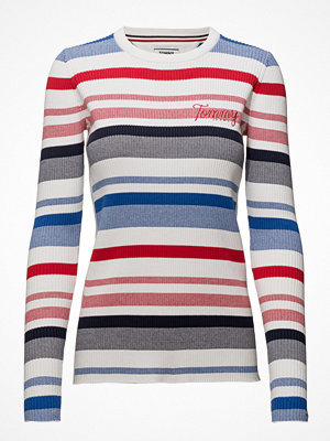 Tommy Jeans Tjw Stripe Rib Sweat