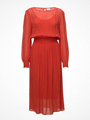 Vila Vinadia Smock L/S Midi Dress