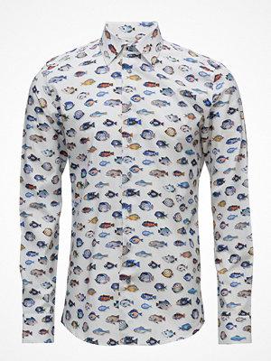 XO Shirtmaker by Sand Copenhagen Blue Fish - Jake Sc