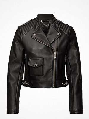 Skinnjackor - GUESS Jeans Rica Leather Jacket