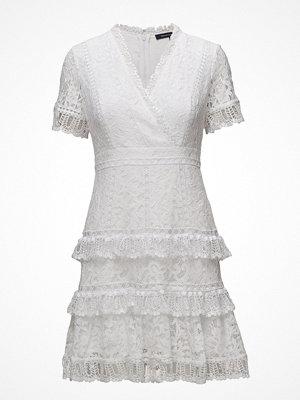 French Connection Arta Lace Vnck Ruffle Dress