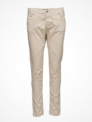 Please Jeans omönstrade byxor New Classic Tapioca Stripe