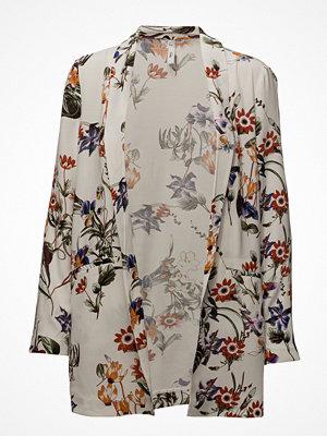 Mango Floral Print Blazer