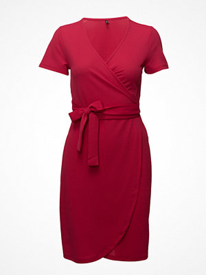 Only Onlsalis S/S Wrap Dress Jrs