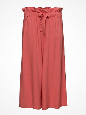 Vila röda byxor Viamaly  Hw Cropped Pant