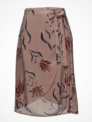 Vila Vinandi Wrap Midi Skirt