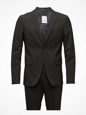 Lindbergh Plain Mens Suit-Blazer + Pants
