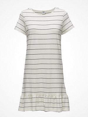 Saint Tropez Striped Dress W. Peplum