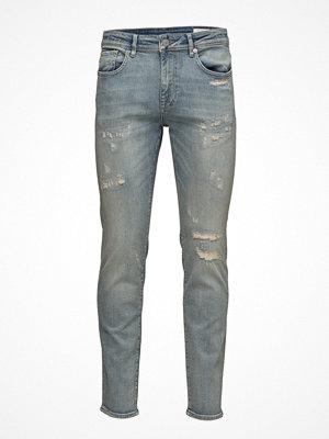 Jeans - Selected Homme Shnslim-Leon 6109 Light  Blue St Jeans