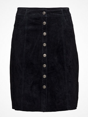 Selected Femme Sfatla Mw Leather Skirt