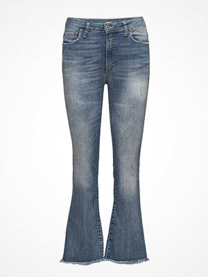 Please Jeans Short Cut Blue Denim