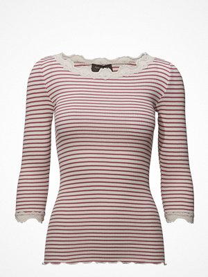 Rosemunde Silk T-Shirt Boat Neck Regular W/Vi