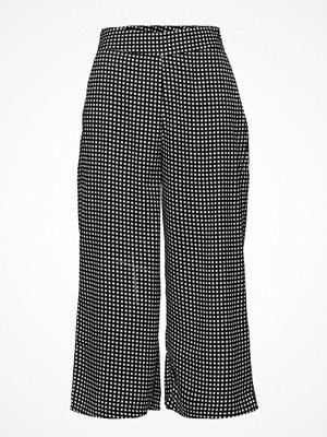Mango rutiga byxor Printed Crop Trousers