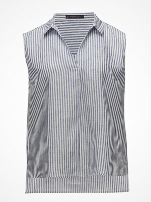 Violeta by Mango Striped Linen Top