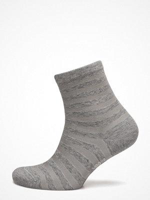 Strumpor - Vogue Ladies Anklesock, Cotton Shiny Stripe