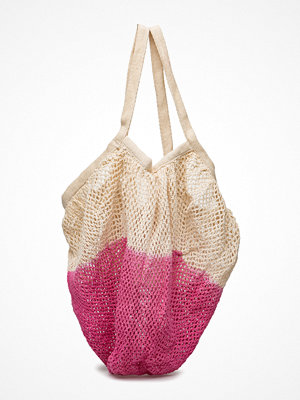 Mango Kids omönstrad shopper Two-Tone Net Bag