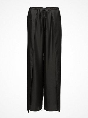 Filippa K svarta byxor Lulu Silk Trousers