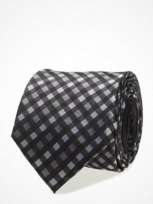 Slipsar - Tommy Hilfiger Tailored Silk Small Check 7cm Tie