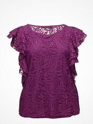 Violeta by Mango Ruffles Lace Top