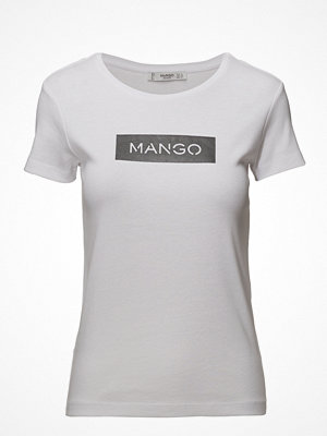Mango Logo Cotton T-Shirt
