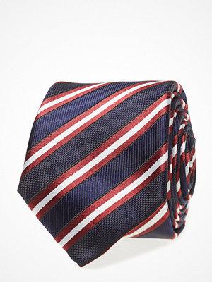 Slipsar - Tommy Hilfiger Tailored Silk Stripe 7cm Tie
