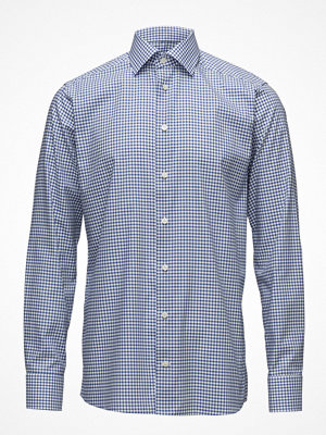 Eton Blue & White Check Shirt