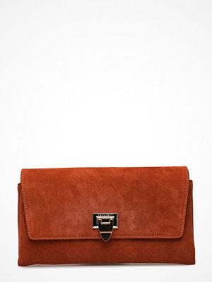 Decadent brun kuvertväska Small Clutch W/Buckle