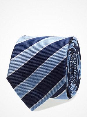 Slipsar - Tommy Hilfiger Tailored Silk Striped 7cm Tie