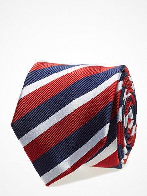 Slipsar - Tommy Hilfiger Tailored Silk Club Stripe 7cm Tie