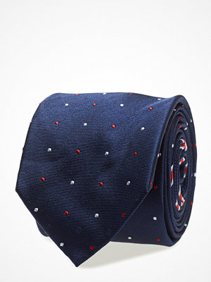 Slipsar - Tommy Hilfiger Tailored Silk Micro Dot 7cm Tie
