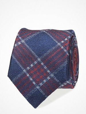 Slipsar - Tommy Hilfiger Tailored Silk Large Check 7cm Tie